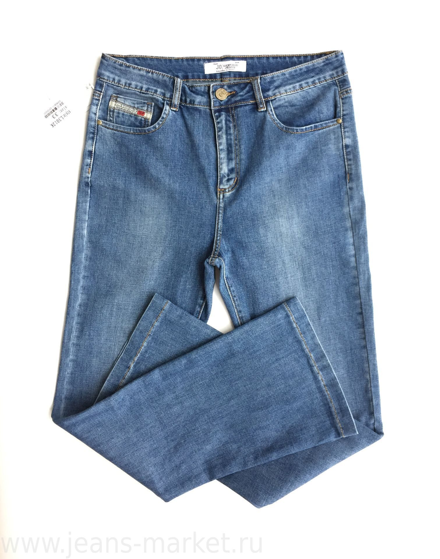 Купить джинсы клеш от колена с доставкой